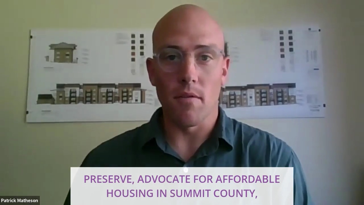 Affordable Housing Issues with Patrick Matheson from Mountainlands Community Housing Trust
