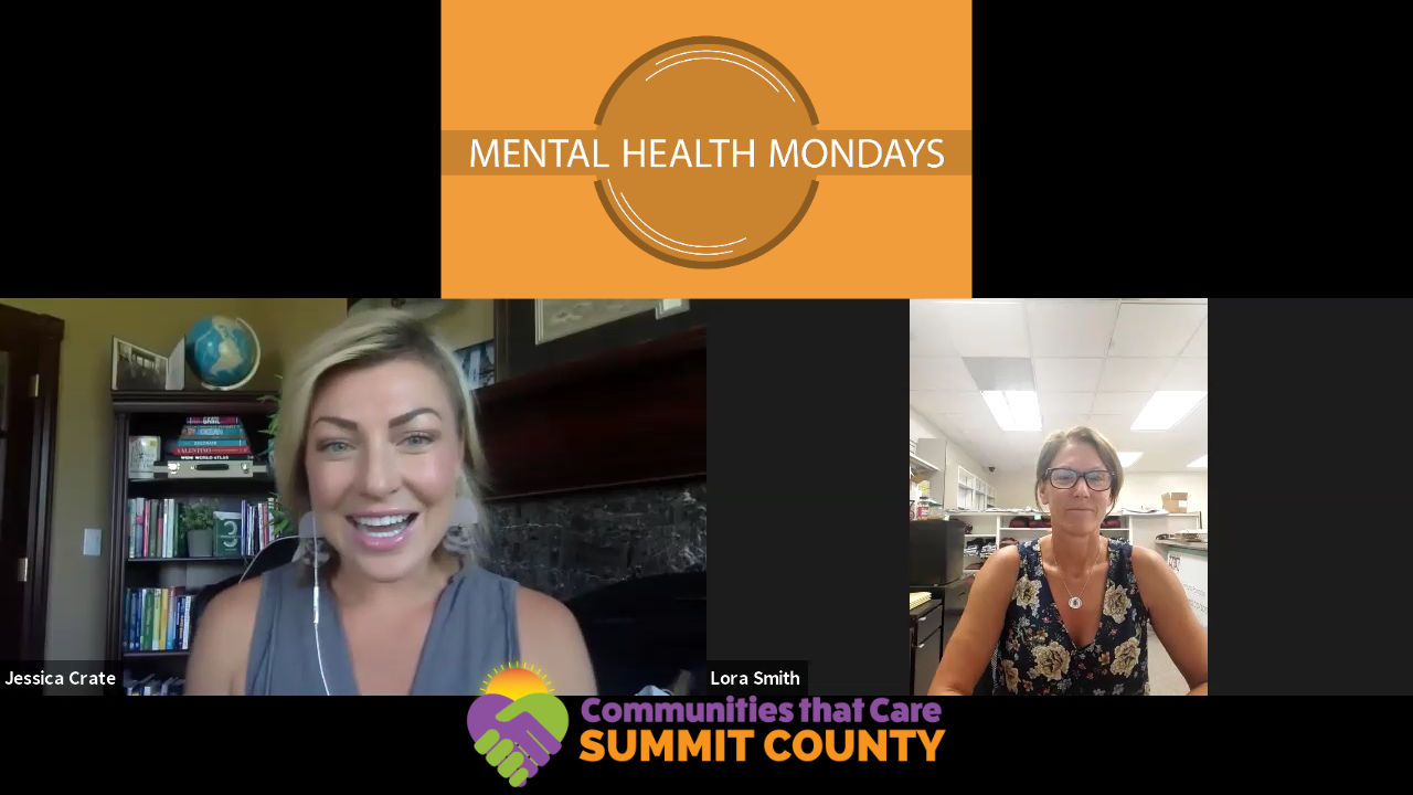 Mental Health Mondays with Lora Smith; Mom, Community Member and Mountain Trails Foundation