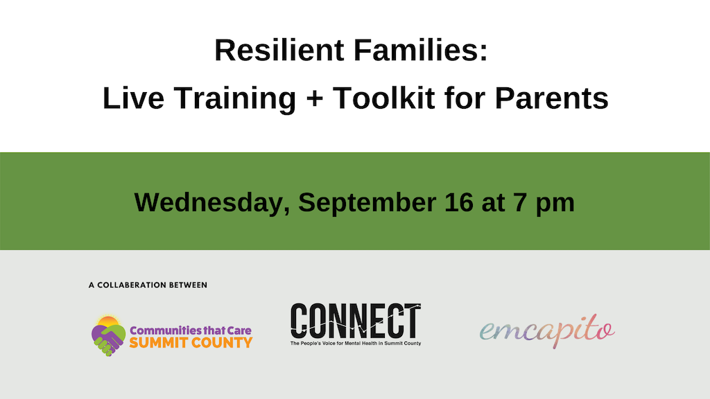 Resilient Families:  Live Training + Family Toolkit