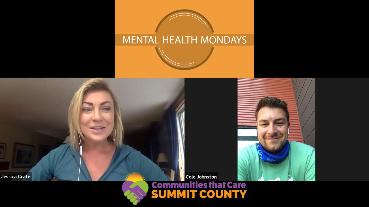 Mental Health Mondays with Cole Johnston, Park City Recreation