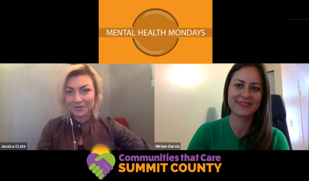 Mental Health Mondays with Miriam Garcia from Holy Cross Ministries