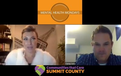 Mental Health Mondays with Corey Levy; Wellness Manager for Vail Resorts